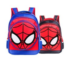 Spiderman Primary School Children's School Bag Boy Cute Cartoon Spider-Man Boy Backpack SchoolBag bookbag