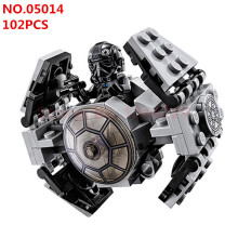 LEPIN Star Wars Rebels TIE Advanced Prototype Micro Fighters Ghost Ship Minifigures Building Block Toys Compatible
