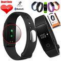 ID107 Сердечного ритма Смарт-Часы Браслет монитор Сердечного Ритма Смарт-Band Wireless Фитнес-Трекер Браслет для Android iOS