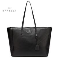 BAFELLI Autumn And Winter Newest Genuine Leather Shoulder Bag Womens Work Casual Versatile Tote Bolsa Feminina