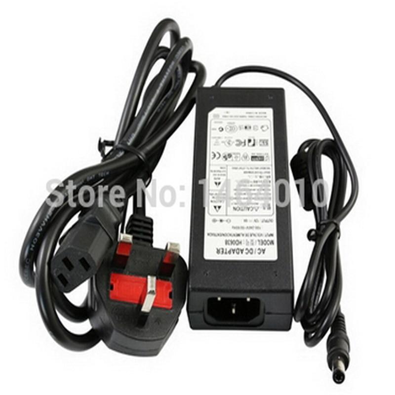 120CM 6A 12V US EU UK AU Cord Plug Power Supply Transformer For RGB White 5050 3528 LED Strip Light Cristmas Decoration