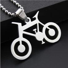 Ожерелье с подвеской в виде горного велосипеда 10 дюймов