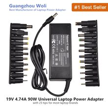 18.5V 19V 19.5V 20V 4.74A 90W Universal Power Adapter Charger For Acer Asus Dell HP Lenovo Samsung Sony Toshiba Laptop(China)