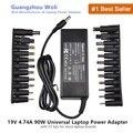 19V 4.74A 90W Universal Power Adapter Charger For Acer Asus Dell HP Lenovo Samsung Toshiba Laptop 18.5V 19.5V 20V