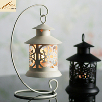 Iron European Retro Candlestick Metal Candle Holder Lantern Home Decoration Ornaments Romantic Ideas Factorydirect Freeshipping