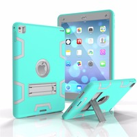 For Apple IPad Air 2 Case Hybrid Front Back 360 Full Protect Cover Shockproof Heavy Duty