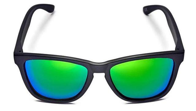 3737d9617e6 2015 fashion tide restoring ancient both men and women sunglassess hawkers  2101 carbon black frame emerald green lens