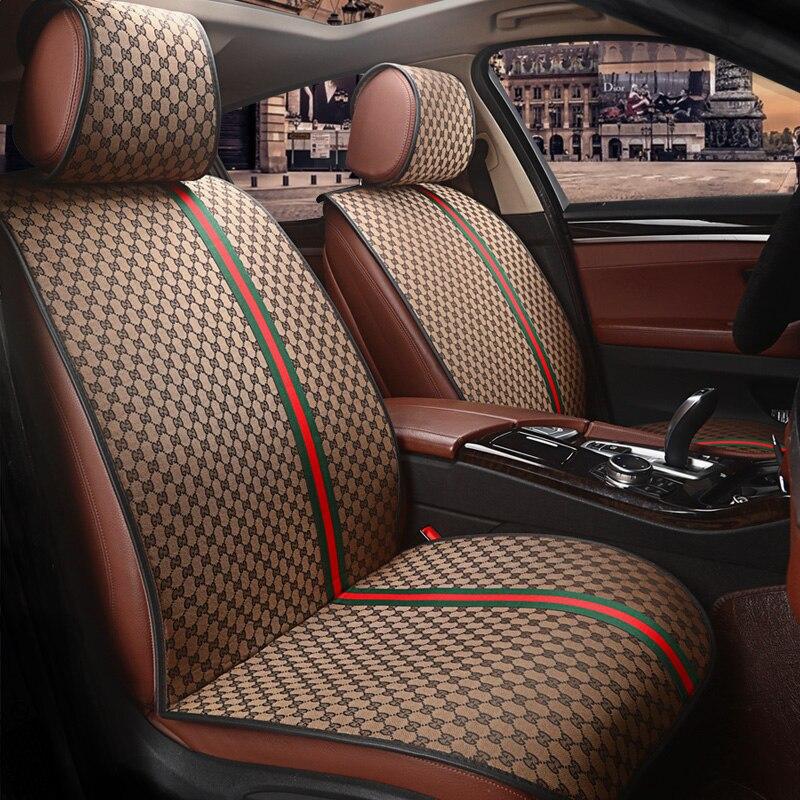 Personnalisation Housse De Siège De Voiture coussin de Voiture de Voiture Pour BMW e30 e34 e36 e39 e46 e60 e90 f10 f30 X1 x3 X4 x5 x6 accessoires de voiture