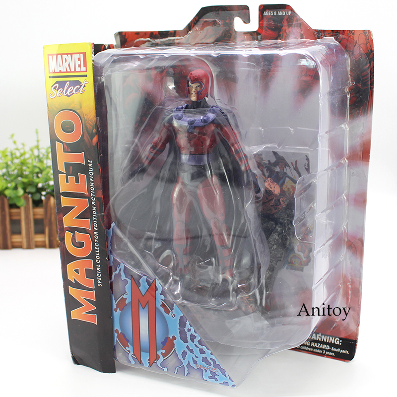 цена на Marvel Select Figure Magneto Action Figure Special Collector Edition Toy 18cm