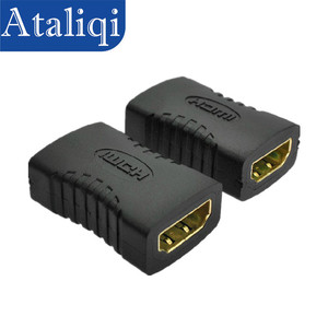 Image 1 - Ataliqi HDMI Female Extender Cable Adapter To HDMI Female Plug Hdmi Extension Cord Connector For 1080P HDTV Hdmi Adapter Cable
