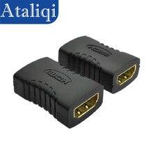 Ataliqi HDMI prolongador hembra Cable adaptador a HDMI hembra enchufe Hdmi extensión Cable conector para 1080P HDTV Hdmi Cable adaptador