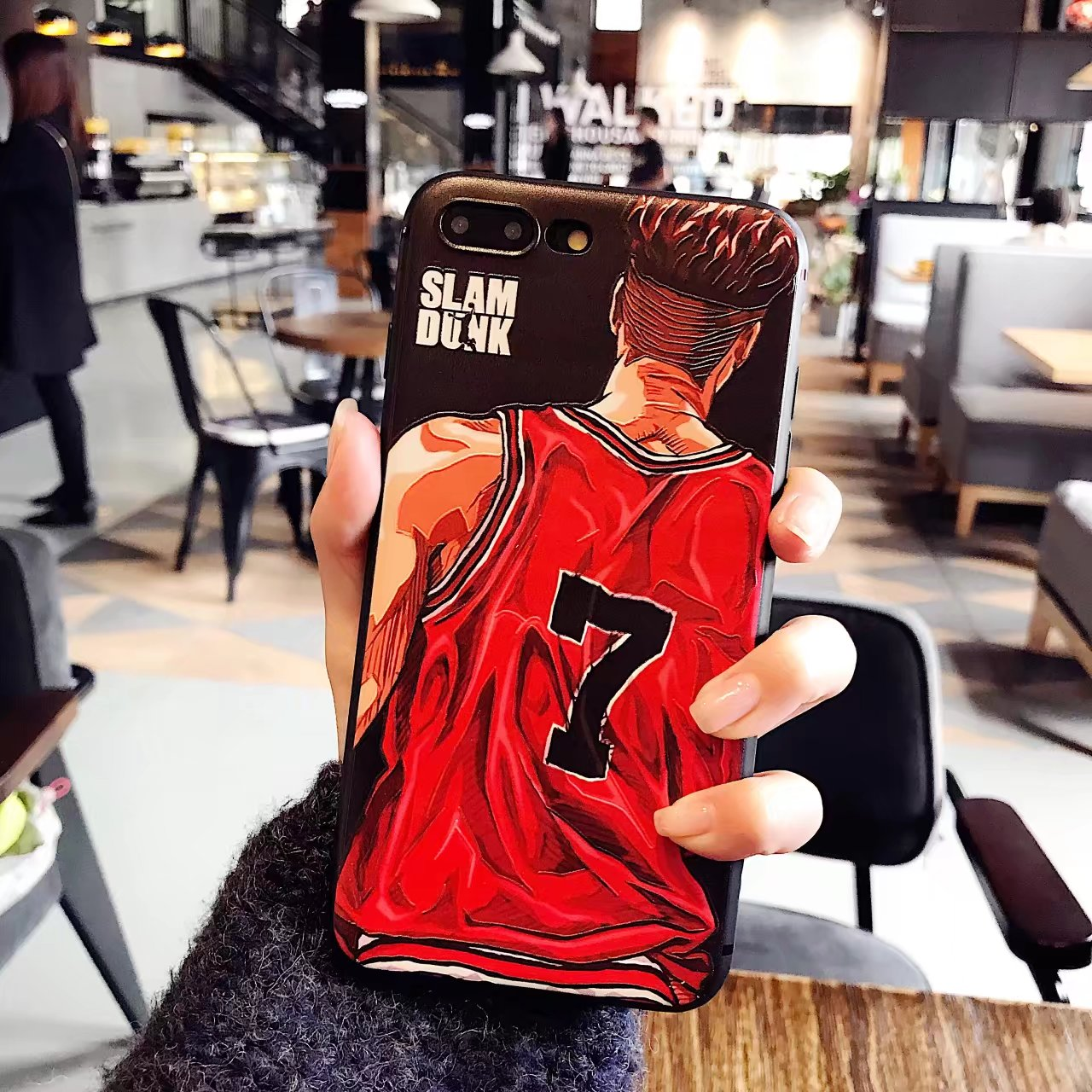 Slamdunk Monsters Inc Relief Emboss Phone Cases For iPhone 6 6 Plus 7 7 Plus Colorful Cartoon Figure Minnie phone covers