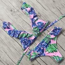 FREE SHIPPING Ruffles Bikini Set Bathingsuit JKP1034