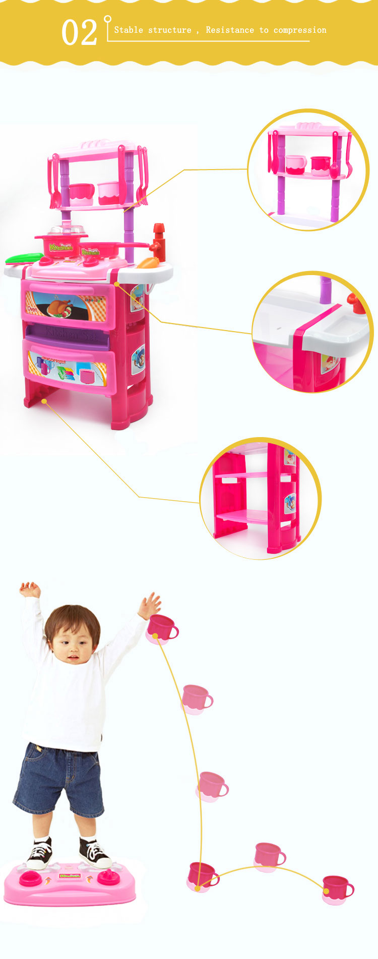 3 children kitchen kitchen sets