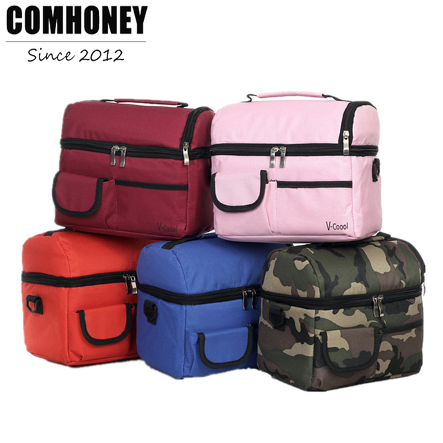Cooler Bags Thermal for Lunch Camouflage Ice Pack Women Picnic Storage Bags Canvas Aluminum Foil Folding  sc 1 st  AliExpress.com & Cooler Bags Thermal for Lunch Camouflage Ice Pack Women Picnic ...