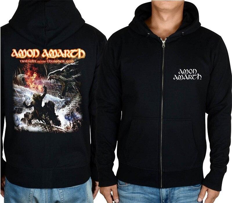 21 конструкции Амон рок молния хлопковые толстовки куртка sudadera панк тяжелый металл 3D череп флис Викинг Толстовка - Цвет: 13