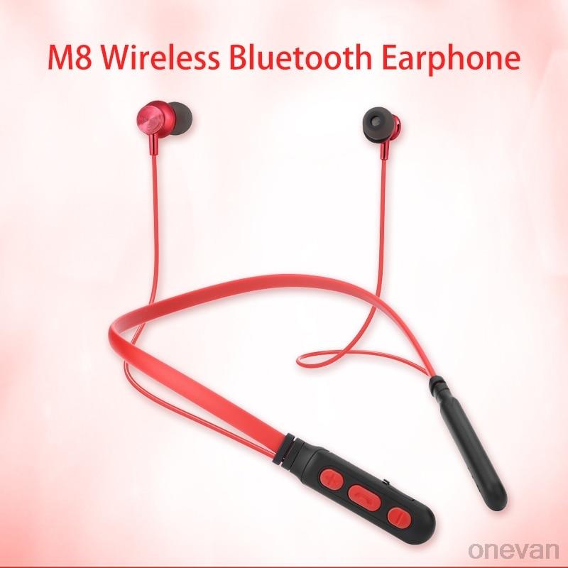 M8 Earphone kulaklık ear buds draadloze oordopjes Wireless Bluetooth Sport Earphone Handfree Earbuds with Mic for Xiaomi Huawei