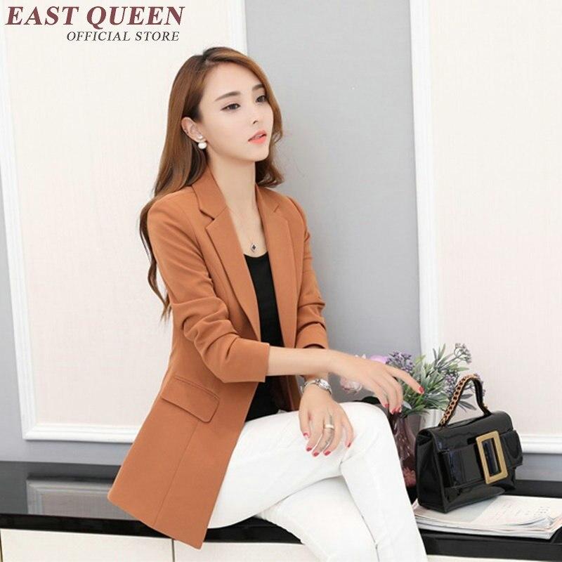 Ladies blazers women blazers and jackets women blazer 2017 AA2746 Y