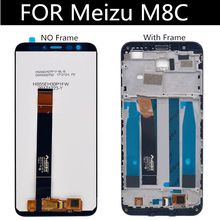 For Meizu M8C M810H M810L LCD Screen Display+Touch Panel Digitizer M8 C Lcd Display