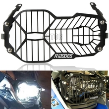 For BMW R1200GS/Adventure LC 2014-2018 2016 2017 Motorcycle Headlight Protector Grille Guard Cover R1200 R 1200 GS 1200GS Adv motorcycle accessories headlight guard protector bracket for bmw r1200gs r1200 gs r 1200 gs lc adv adventure 2013 2014 2015 2016