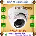 White color  Built-in WIFI Dome IR HD 960P Indoor IP Camera Security CCTV Surveillance ONVIF P2P  Cam IR Cut Filter 2MP Lens