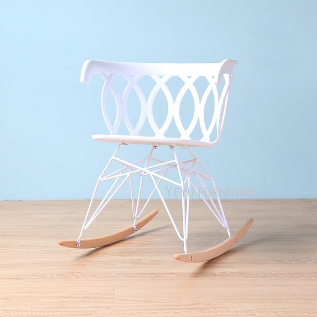 Filo Di Plastica Per Sedie.Design Moderno Popolare Decorazione Della Casa Sedia A Dondolo