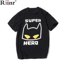 Riinr Summer T-shirts Printing Super Cat Men T Shirts 2017 Famous Brand Fashion New Fashion T Shirt O-Neck Cotton Mens Tops Tees