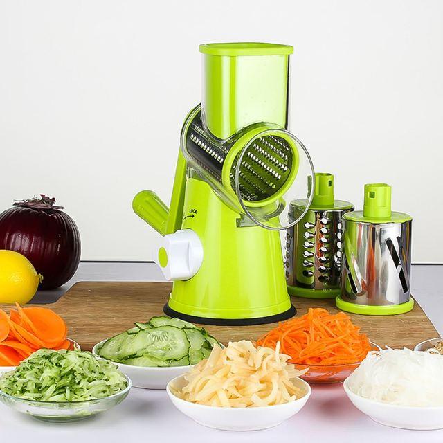 Fesselnd Küche Gemüse Schneidemaschine Kartoffel Karotte Gurke Cutter Schredder  Käsereibe Messer Multifunktionale Hause Kochen Werkzeuge Maschine