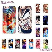 Babaite Goku Dragon Ball Goku SSJ4 Super cool anime Telefoon Cover voor iPhone 8 7 6 6S 6Plus 5 5S SE XR X XS MAX 11 11pro 11promax(China)