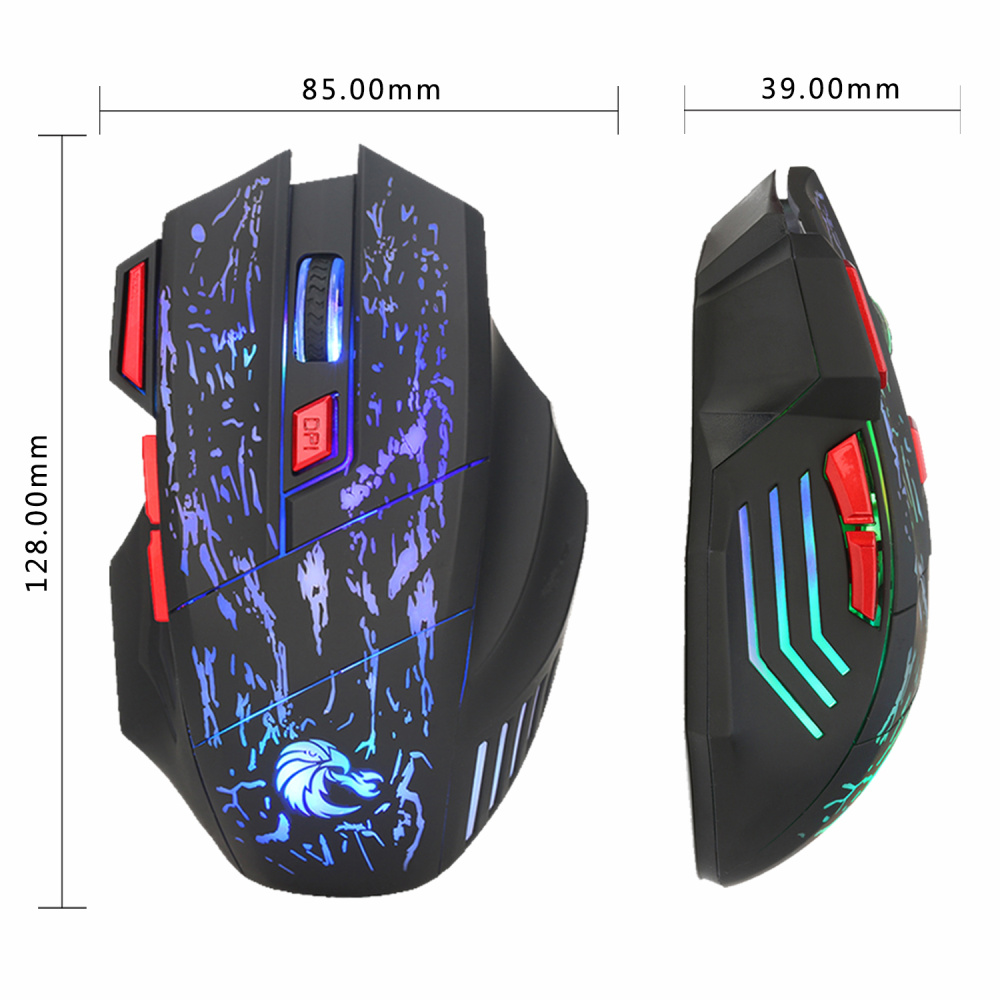 Image 2 - HXSJ Newest H300 5500DPI Professional USB Wired Optical 7 Buttons Gaming Mouse for Laptops Desktop Mouse Gamer Peripherals-in Mice from Computer & Office