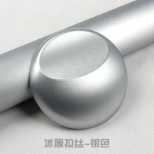 Хорошее качество серебристый металлик матовый алюминий винил металл автомобиля обёрточная бумага плёнки Стайлинг для автомобильной и Motorcycl