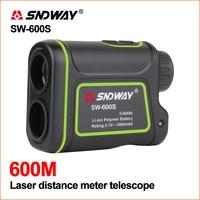 SNDWAY Laser Rangefinder Distance Meter Golf Laser Rangefinder Hunting Digital Telescope Range Finder 600m Laser Distance Meters