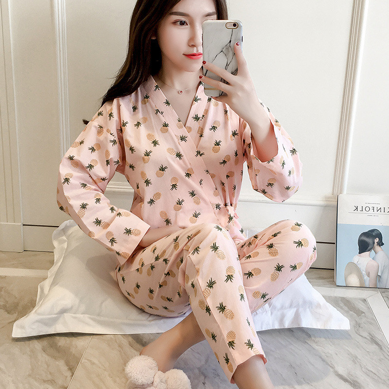 Brand Female Summer Clothes Sets Pregnant Women Japanese printing kimono for Breastfeeding And Nursing Dress Outing Costume