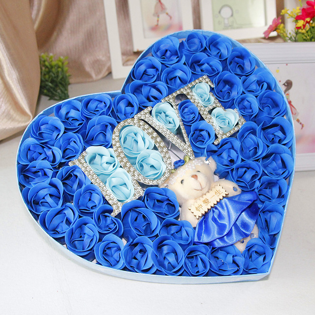 Soap Flower Gift Birthday To Send His Girlfriend A My Wife Girls