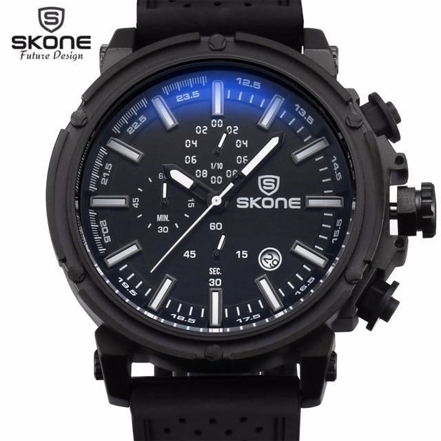 Chronograph Sport Mens Watch Top Brand Luxury Military Quartz For Men