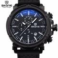 Reloj Hombre 2017 SKONE Fashion Chronograph Sport Mens Watches Top Brand Luxury Military Quartz Watch Clock Relogio Masculino