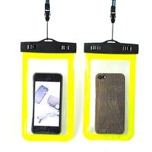 Transparent Durable Lightweight Waterproof Phone Pouch