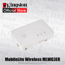 Kingston Power Bank MobileLite Multifunction wifi Wireless G3, External Battery Bank, storage and backup for iOS Android mobile(China)