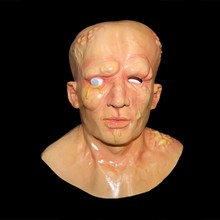 2018 Horrible disgusting halloween adult infected Human Mutant face Zombie Mask