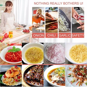 Image 5 - ステンレス鋼野菜ガーリックオニオンのチョッパー果物チョッパーサーキッチンアクセサリーハーブとスパイスツール