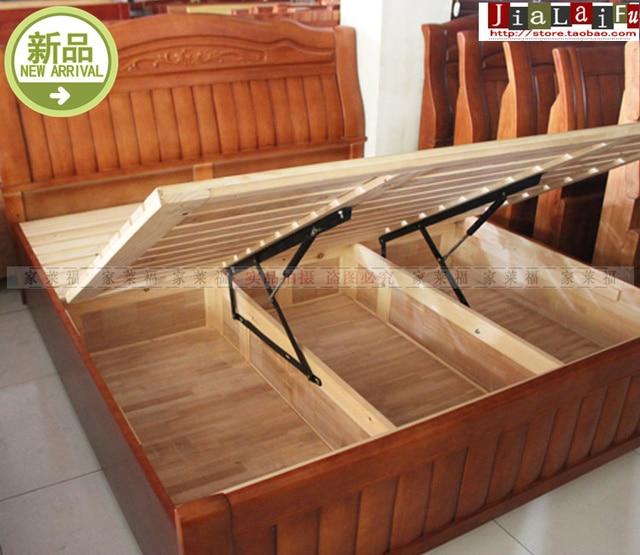 Cama alta calidad soporte cama tatami apoyo neumática hidráulica ...