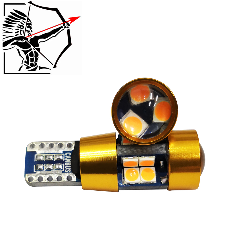 2 pcs *Perfect <font><b>led</b></font> Good Quality Automotive Dashboard Lights Auto Parking Light T10 <font><b>5W5</b></font> <font><b>Canbus</b></font> Car <font><b>LED</b></font> Auto Bulb image
