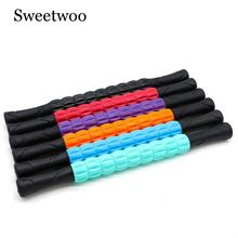 9 Spiky Yoga Massage Stick Point Pilates Muscle Physical Therapy Relieve Tool Fitness Equipment Roller