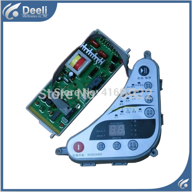 Free shipping 100% tested for washing machine board wi5027rsf c303707 control board motherboard set 100% tested for washing machine board wd n80051 6871en1015d 6870ec9099a 1 motherboard used board