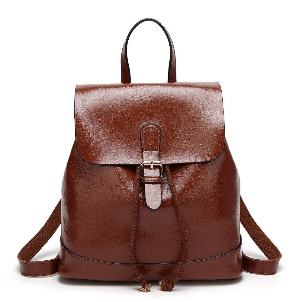 Dower mich LMP13-15 frauen casual einfarbig kleine frische nette campus rucksack candy farbe frühling PU rucksack