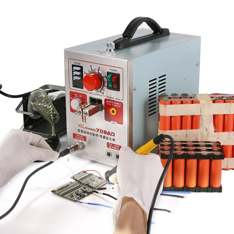SUNKKO 709AD aukšto impulso suvirintojas 2,2 kW galios - Suvirinimo įranga - Nuotrauka 2