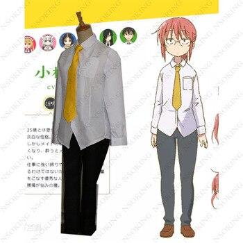 Kobayashi-san Chi no Maid Dragon Cosplay Miss Kobayashi's Dragon Maid Kobayashi Costume фото
