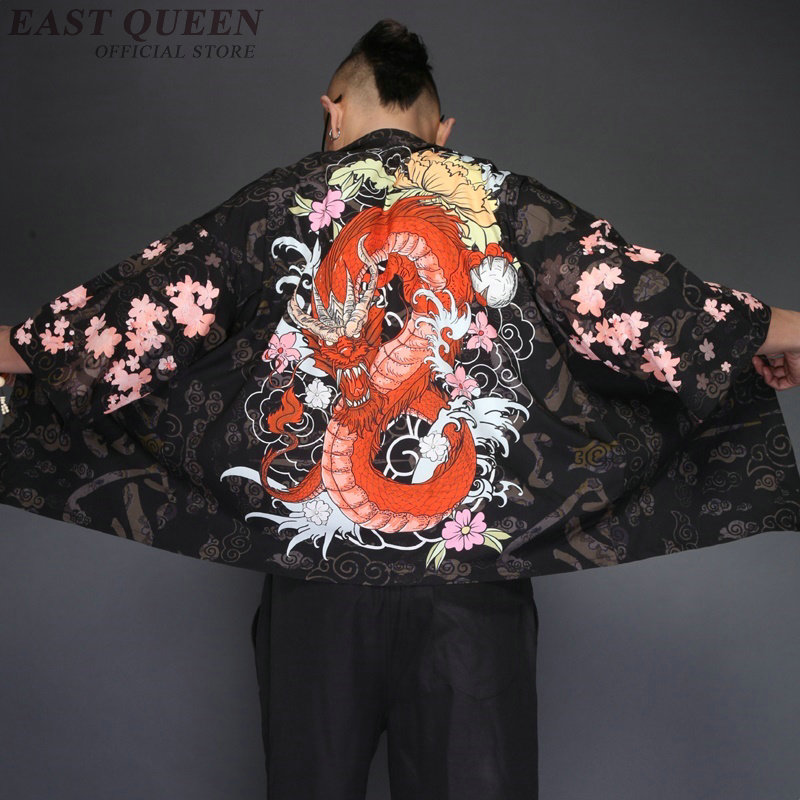 d188e3c45 Japanese kimono cardigan men Japan clothing kimono shirt men male yukata  KK2229 Y image