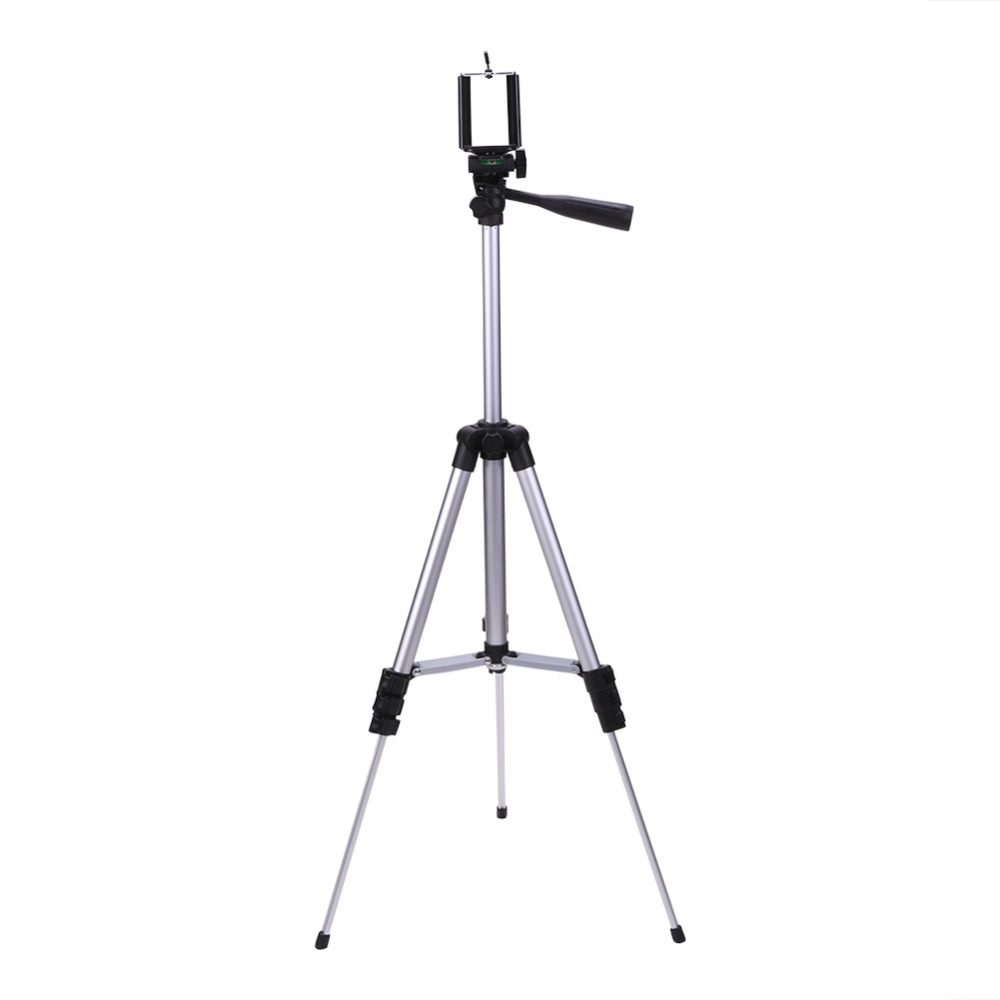 New-Sky-View Univresal Aluminum Tripod Stand Mount Holder With Built-in Bubble Level For Digital Camera Fishing Lamp Light Outdoor 5kg Load R