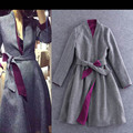 When the women's high fashion Slim V-neck long-sleeved coat jacket female autumn and distributors to join Y30A86